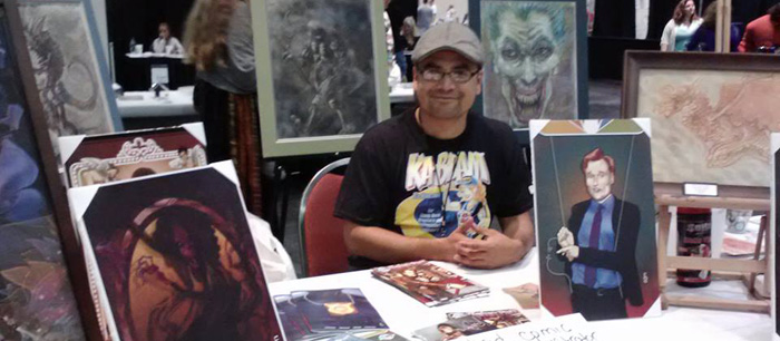 Published Comic Book Artist, Erick Adrian Marquez